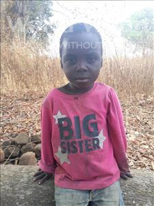 Choose a child to sponsor, like this little boy from Keembe, Patrick age 4