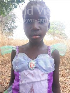 Choose a child to sponsor, like this little girl from Keembe, Everlina age 9