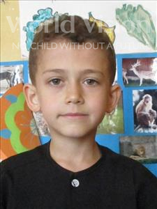 Choose a child to sponsor, like this little boy from Shkodra, Izmir age 10