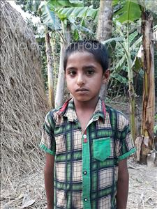 Choose a child to sponsor, like this little boy from Ghoraghat, Musa Abdullah age 8