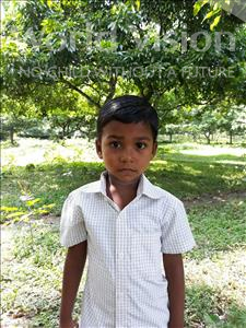 Choose a child to sponsor, like this little boy from Ghoraghat, Sourav age 3