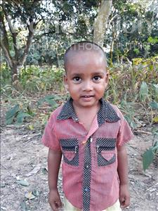 Choose a child to sponsor, like this little boy from Ghoraghat, Kawser age 3