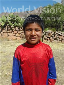 Choose a child to sponsor, like this little boy from Mosoj P'unchay, Efrain age 10