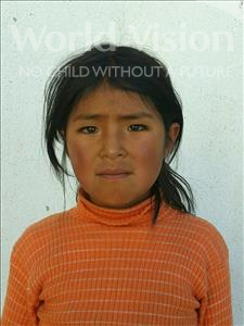 Choose a child to sponsor, like this little girl from Khantati, Lily age 10
