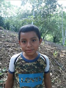 Choose a child to sponsor, like this little boy from Maya, EDVIN ANDONI age 8
