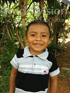 Norvin Edil, aged 4, from Honduras, is hoping for a World Vision sponsor