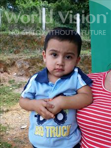 Choose a child to sponsor, like this little boy from Maya, Jonathan Danilo age 2