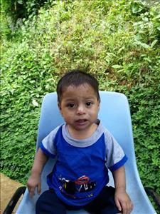 Choose a child to sponsor, like this little boy from Maya, Arlen Josue age 1