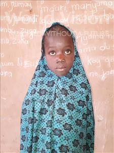 Choose a child to sponsor, like this little girl from Sirba, Safoura age 8