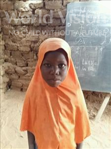 Choose a child to sponsor, like this little girl from Komabangou, Nafissa age 8
