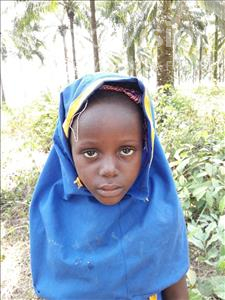 Ramatu, aged 6, from Sierra Leone, is hoping for a World Vision sponsor
