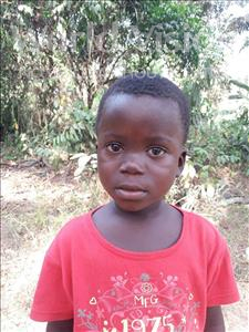 Choose a child to sponsor, like this little boy from Imperi, Ansu age 6