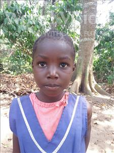Choose a child to sponsor, like this little girl from Imperi, Jayatu age 7