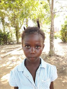 Choose a child to sponsor, like this little girl from Imperi, Nathacia age 7