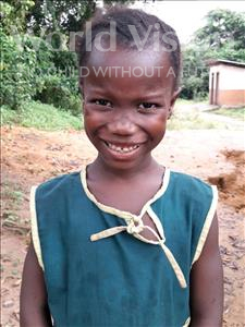 Choose a child to sponsor, like this little girl from Imperi, Maseray age 7