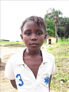 Choose a child to sponsor, like this little girl from Imperi, Saffiatu age 8