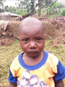 Choose a child to sponsor, like this little boy from Imperi, Junisa age 2