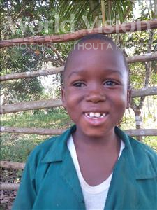 Choose a child to sponsor, like this little boy from Imperi, Jusu age 7