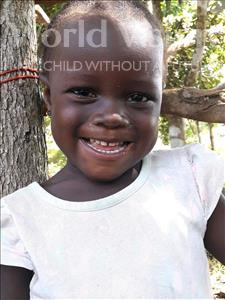 Choose a child to sponsor, like this little girl from Imperi, Mariatu age 3