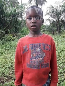Choose a child to sponsor, like this little boy from Tegloma, Fatorma age 6