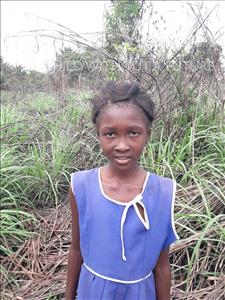 Choose a child to sponsor, like this little girl from Tegloma, Musu age 8