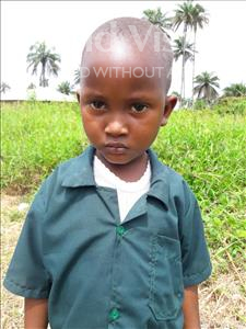 Choose a child to sponsor, like this little boy from Tegloma, Issa age 5