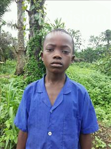 Choose a child to sponsor, like this little boy from Tegloma, Morie age 9