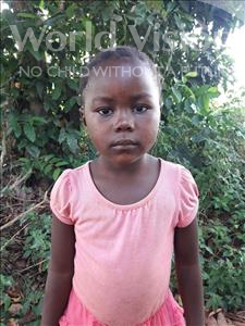 Choose a child to sponsor, like this little girl from Tegloma, Salaymatu age 3
