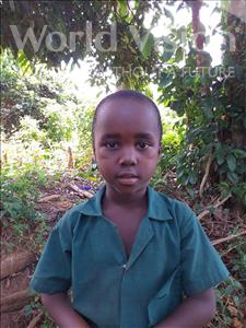 Choose a child to sponsor, like this little boy from Tegloma, Ambulai age 5