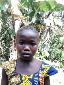 Choose a child to sponsor, like this little girl from Jaiama Bongor, Jamiatu age 9