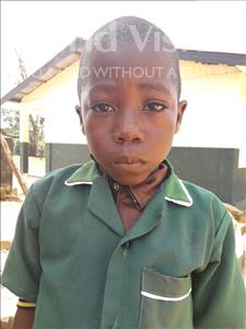Choose a child to sponsor, like this little boy from Jaiama Bongor, Musa age 7