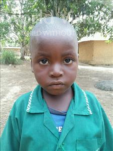 Choose a child to sponsor, like this little boy from Jaiama Bongor, Dauda age 4