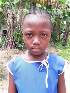 Choose a child to sponsor, like this little girl from Jaiama Bongor, Isata age 6