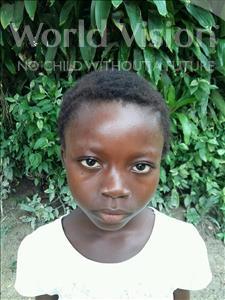 Choose a child to sponsor, like this little girl from Jaiama Bongor, Hajawatta age 7