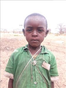 Choose a child to sponsor, like this little boy from Kilimatinde, Baraka Simon age 6