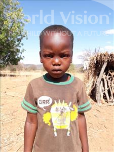 Choose a child to sponsor, like this little boy from Kilimatinde, Gabriel Atanas age 5