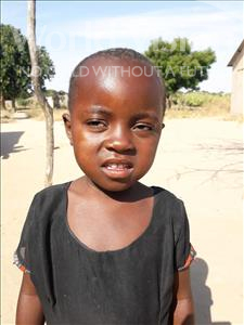 Choose a child to sponsor, like this little girl from Kilimatinde, Anastasia Hezroni age 5
