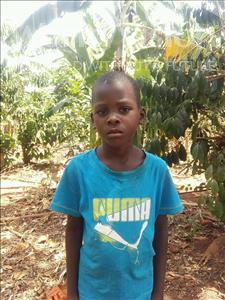Choose a child to sponsor, like this little girl from Kibiga-Mulagi, Betty age 6