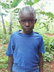Alvine, aged 9, from Uganda, is hoping for a World Vision sponsor