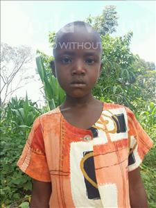 Choose a child to sponsor, like this little girl from Kibiga-Mulagi (Kimu), Gloria age 6