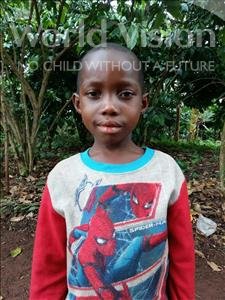 Choose a child to sponsor, like this little girl from Kibiga-Mulagi, Jovia age 4