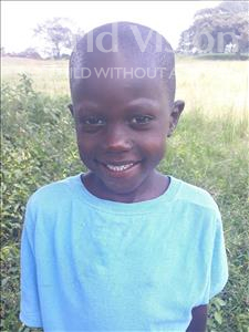 Choose a child to sponsor, like this little boy from Busitema, Ahamad age 6