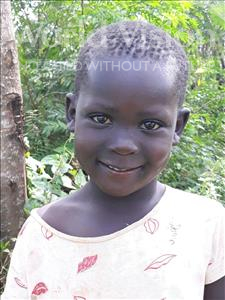 Choose a child to sponsor, like this little girl from Busitema, Margaret age 5