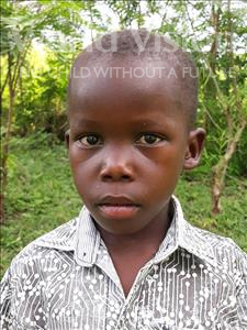 Choose a child to sponsor, like this little boy from Busitema, Milbon age 4