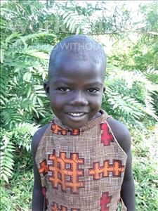 Choose a child to sponsor, like this little girl from Busitema, Clere age 4