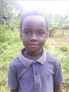 Choose a child to sponsor, like this little boy from Busitema, Rome age 5