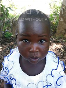 Esther, aged 2, from Uganda, is hoping for a World Vision sponsor