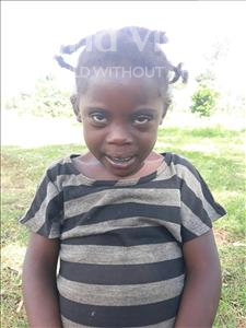 Wontali, aged 4, from Uganda, is hoping for a World Vision sponsor