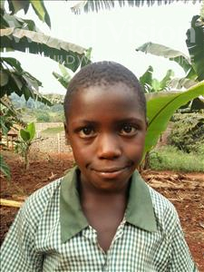 Abel, aged 11, from Uganda, is hoping for a World Vision sponsor