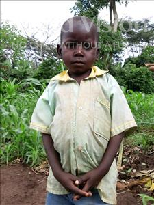 Choose a child to sponsor, like this little boy from Ntwetwe, Bagonza age 6